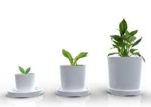 pot plante design growing pot yanko design