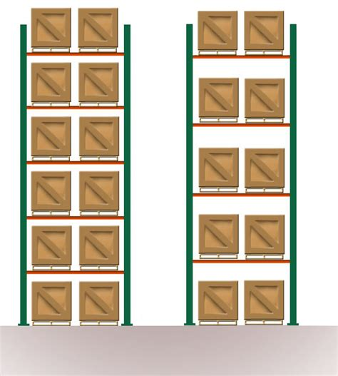 Wh Floor Plan by Causes Of Pallet Rack Collapses And Ways To Prevent Them