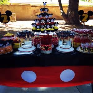 mickey mouse treat table isaac s future birthday