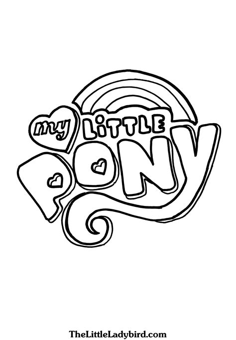 coloring pages free my pony free my pony coloring pages thelittleladybird