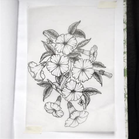 moon flower tattoo design moonflower design best ideas gallery