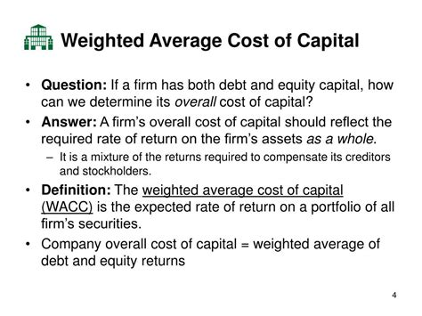 Wacc Mba by Ppt Mba 643 Managerial Finance Lecture 9 Weighted
