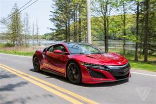 Acura Nsx 2017 Acura Nsx Review A Gentler Supercar The Verge