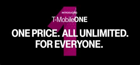 mobile one plus one offer t mobile offers unlimited lte data to all customers with t