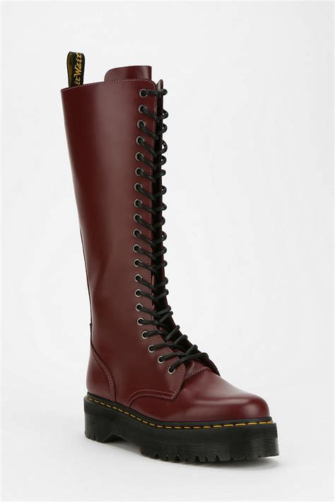 Outfitters Platform Shoe Boots lyst outfitters dr martens britain platform