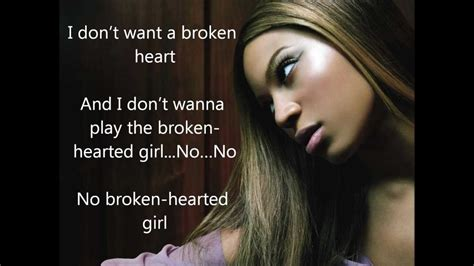 lyrica and beyonce lyrics beyonc 233 broken hearted