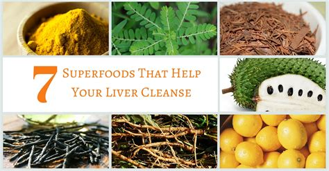 How To Help Your Liver Detox by 7 Superfoods That Help Your Liver Cleanse
