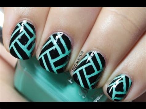 Striping Nailart striping nail