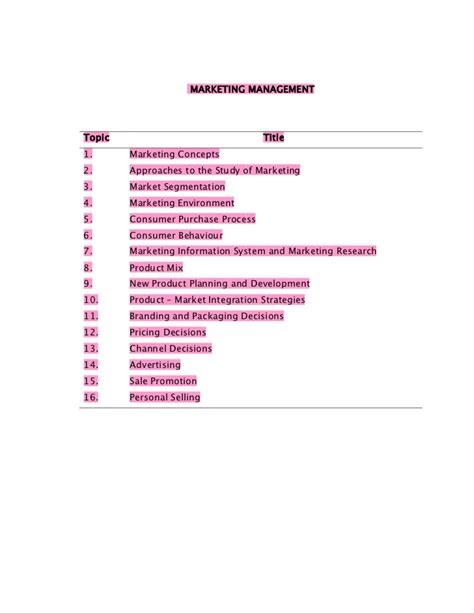 Performance Management Notes For Mba by Free Upload