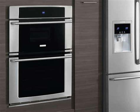 Single Kitchen Cabinet by Compare Single And Double Wall Ovens Electrolux