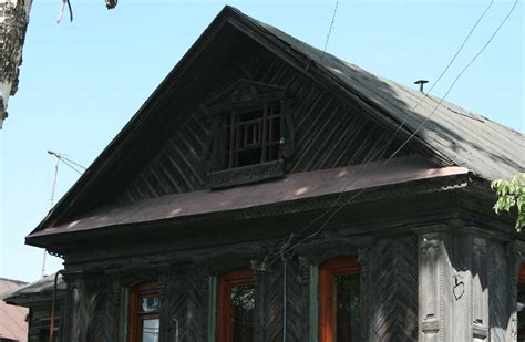 19th century archtecture houses culture peasant wooden house mid 19th century