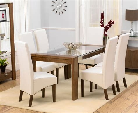 cheap glass dining table 20 cheap glass dining tables and 6 chairs dining room ideas
