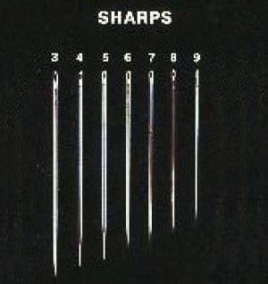 sharp needle