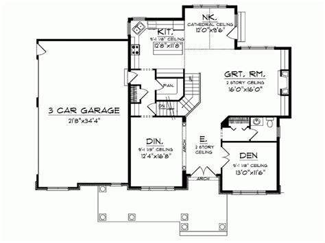 eplans farmhouse house plan walk in pantry 3033 square