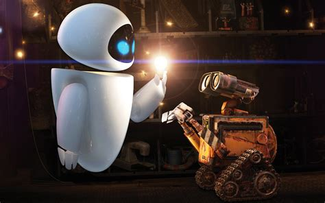 wall e wall e and eve wallpapers hd wallpapers id 9621
