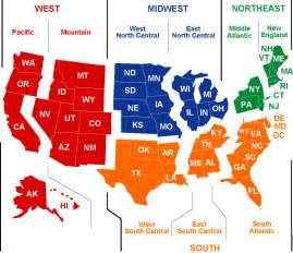 us regions map regions of the united states msyates5thgrade