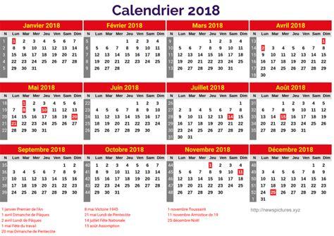Calendrier à Imprimer 2018 Calendrier 2018 Gratuit 195 Imprimer Calendrier 2018