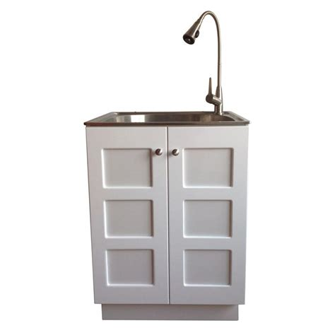 Laundry Sinks With Cabinets by Utility Laundry Sink With Cabinet Roselawnlutheran