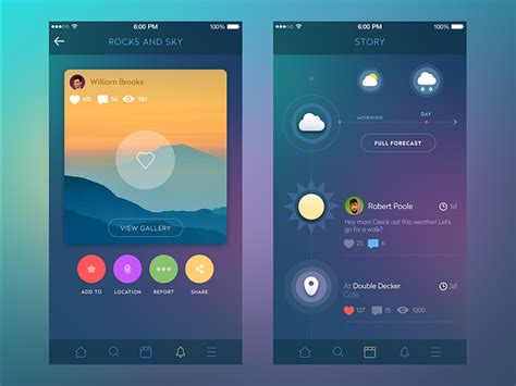 network layout app social network by sergey valiukh dribbble
