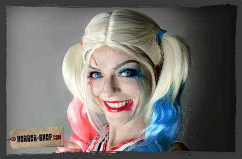 harley quinn cosplay makeup tutorial diy horror shopcom