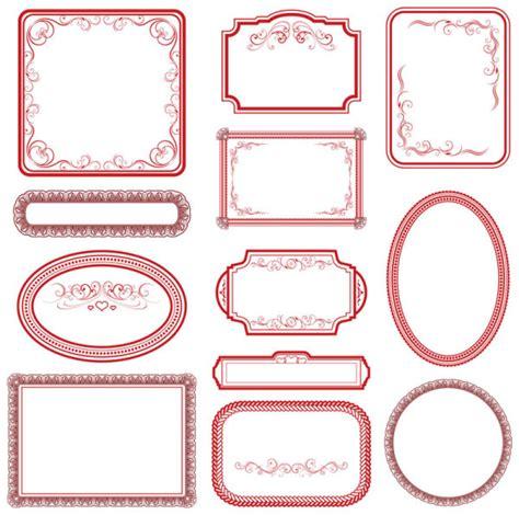 frames vector free vintage frame vector vector frames borders free