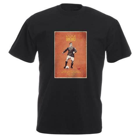 Aaf Cantona 1 T Shirt eric cantona quot king eric quot vintage poster t shirt from
