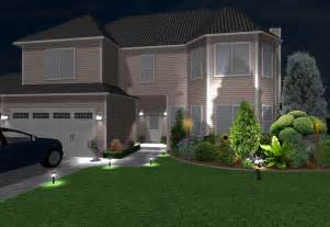 how to design outdoor lighting home landscape software features