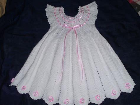 vestidos de tejido vestido de nia tejido en crochet manualidades car
