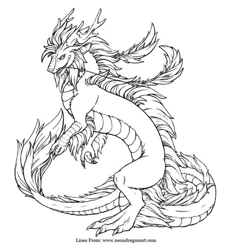 dragon coloring pages for adults pdf imperial dragon coloring page craft pinterest