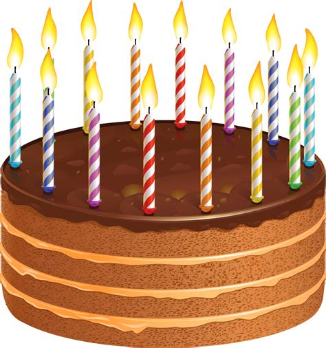 Happy birthday wishes greetings clipart cake with candles happy birthday wishes greetings