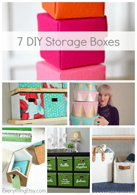 diy storage box 7 diy storage boxes get organized everythingetsy com