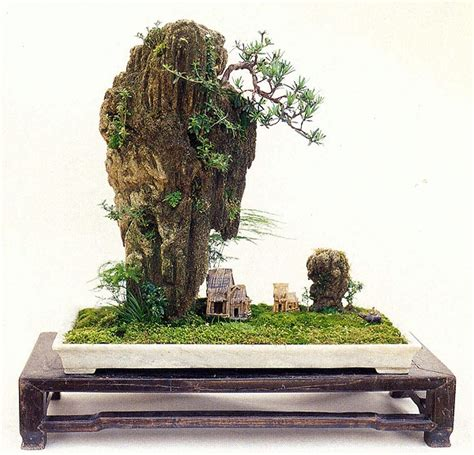 102 Best Images About Rock Planting Or Landscape Bonsai Bonsai Rock Garden