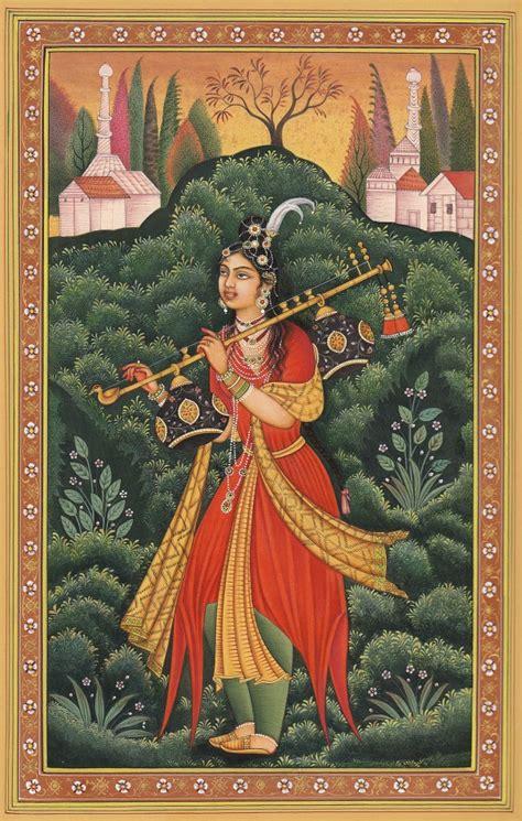 Khimar Hamida indian miniature paintings june 2012