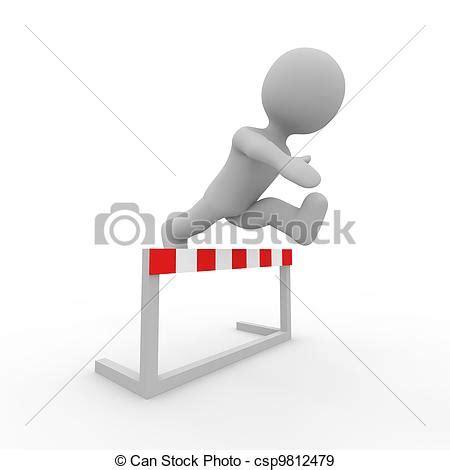 can stock photo clipart stock illustration figur aus grau springende h 252 rde
