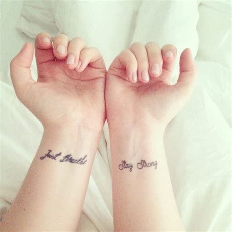 just breathe wrist tattoo 55 attractive wording on wrists
