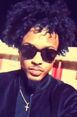 hair like august alsina singer august alsina shows off new hair look cute or nah