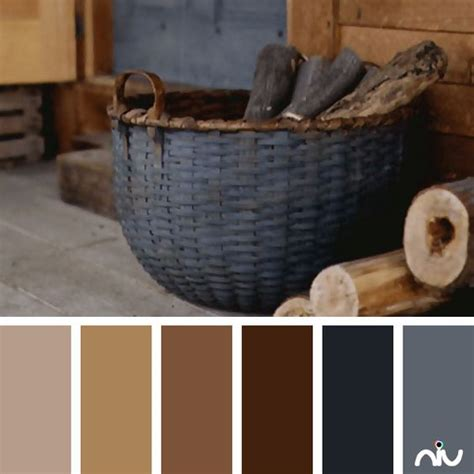 rustic color schemes rustic basket object amazing living room color scheme