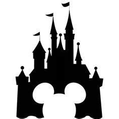 disneyland castle silhouette clipart panda free