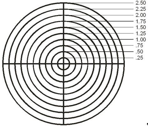 printable laser targets laser bore sight calculator