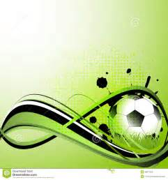soccer template sport template with soccer football stock vector