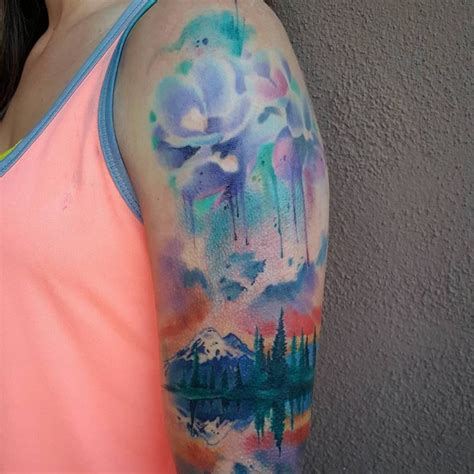 color tatoos 150 artistic watercolor tattoos ideas april 2018