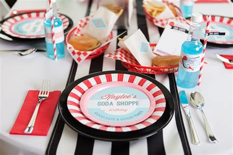 karas party ideas retro soda shoppe birthday party kara