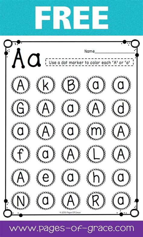 Letter Recognition Worksheets by Are You Looking For Some Great Activities For Teaching