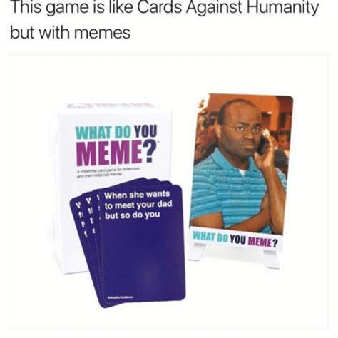 meme toys games board games cards