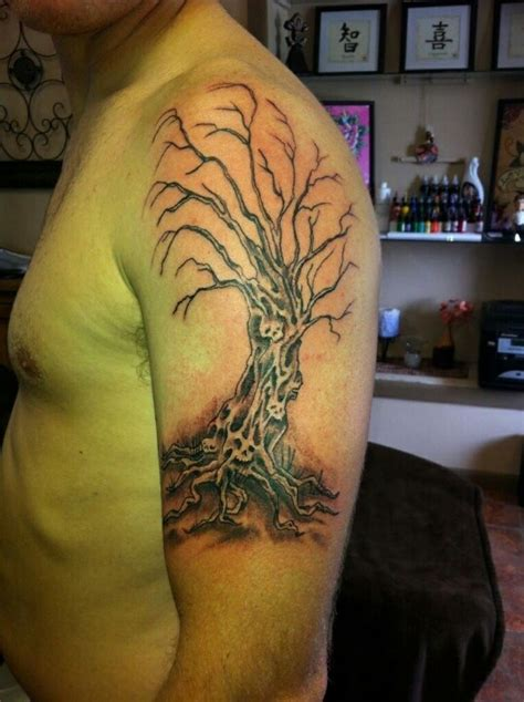 evil tree tattoo designs evil tree cutthroat
