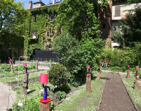 designboom garden paola navone weaves the secret garden for barovier toso
