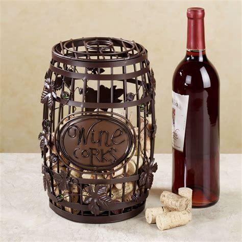 Decorative Wine Corks by Wine Barrel Cork Cage R