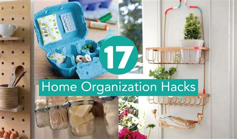house organisation hacks 17 genius home organization hacks you should have thought