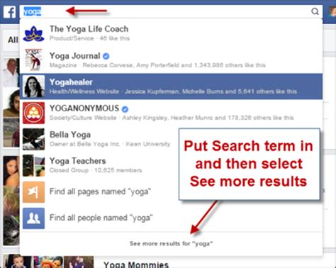Search For And Groups How To Network With Groups Social Media Examiner