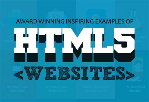 html5 typography html5 websites exles of design with html5 web design